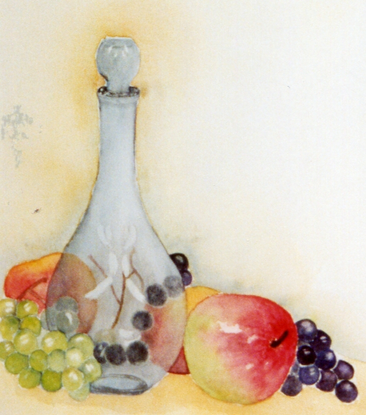 Aquarelles nature morte - Dessin nature morte ...